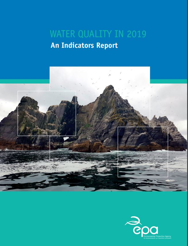 Cover from Water Quality In Ireland 2019
