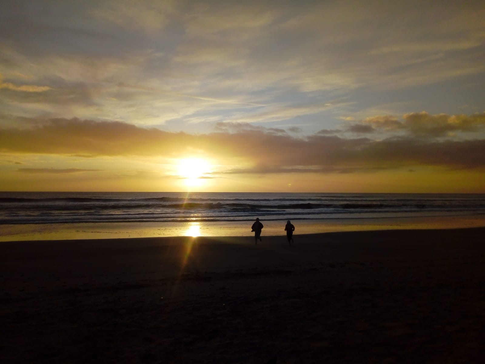 Photo of sunrise, complentary of Ruth O'Connor
