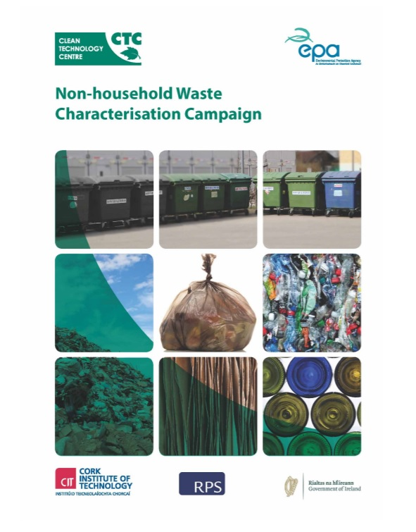 Non-HH characterisation report cover