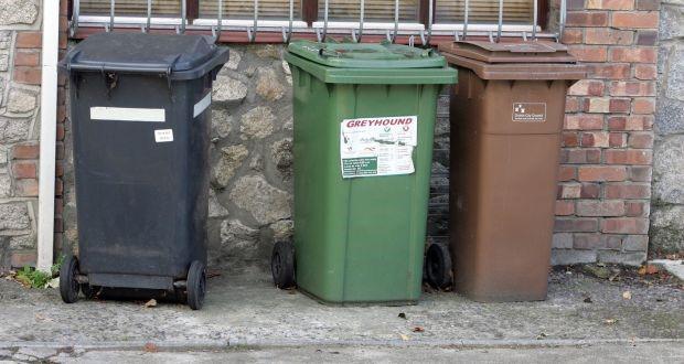 3 waste bins