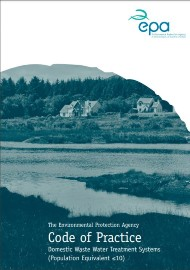 2021 Code of Practice for Domestic Waste Water Treatment Systems cover