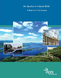 Report cover with scenery