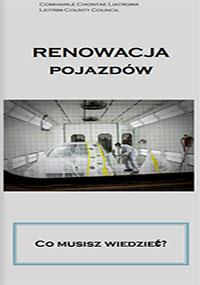 cover image of report Renowacja Pojazdow