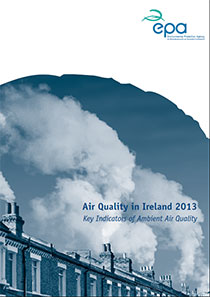 Report cover with plumes of smoke