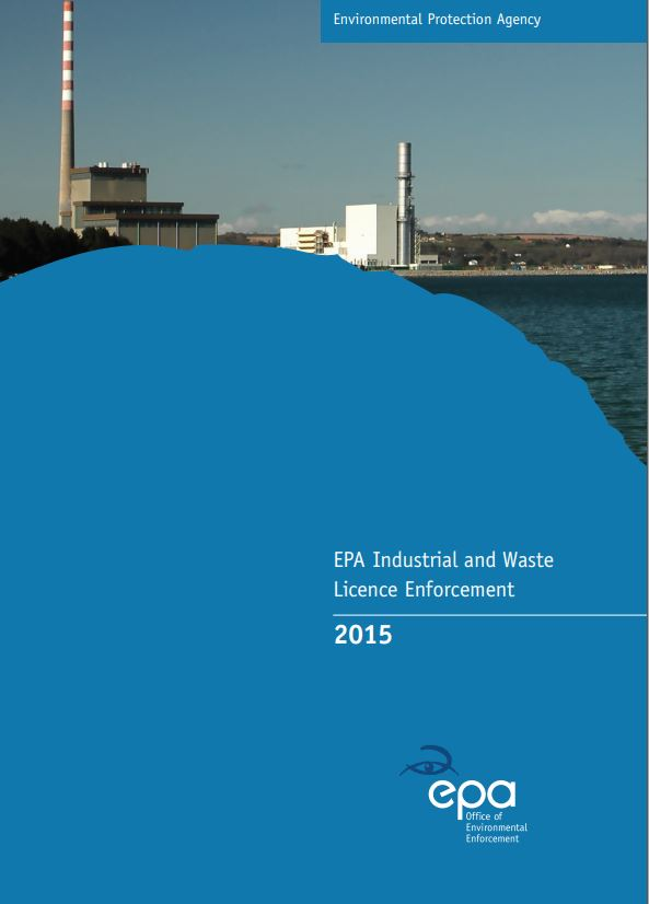 2015 Industrial & Waste Report Cover