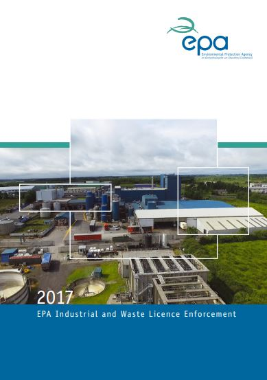 2017 Industrial & Waste Report Cover