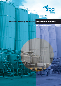 Guidance on assessing and costing environmental liabilities - Unit cost rates for verification