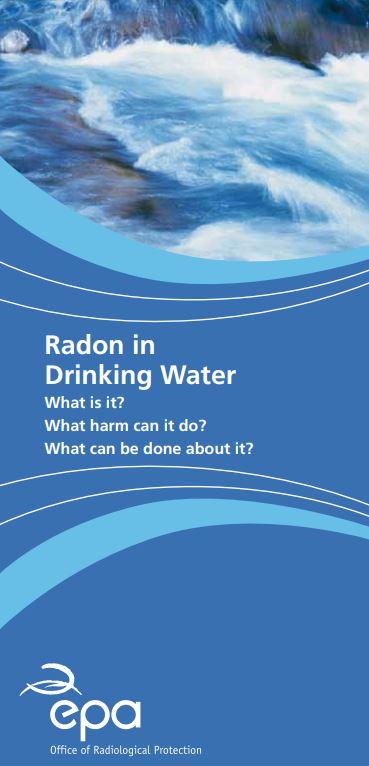 radon in drinking water infographic thumbnail