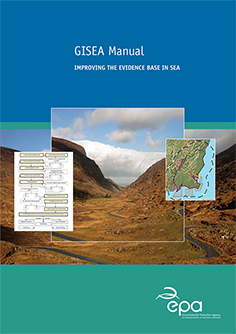 Report cover with valley