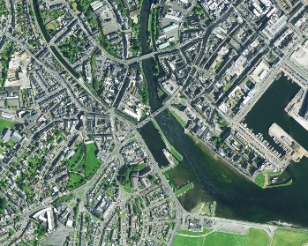 Aerial image of Galway