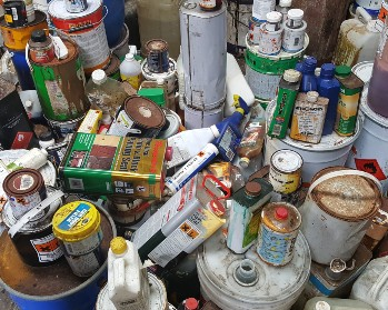 Image waste paints