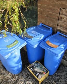 Waste kerbside bins