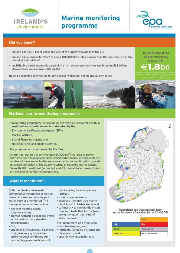 Marine Monitoring Factsheet