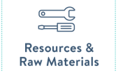 Resources and raw materials is a priority area of the National Waste Prevention Programme