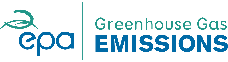 Greenhouse gas emissions logo