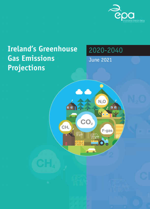 GHG projections report
