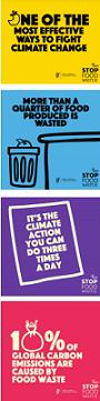 Food waste ad