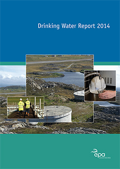 Drinking Water Report 2014 cover