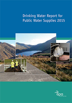 Drinking Water Report for Public Water Supplies 2015 cover