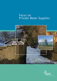 Focus on Private Water Supplies cover