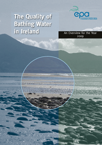 The Quality of Bathing Water in Ireland 2009 cover