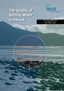 The Quality of Bathing Water in Ireland 2011 cover