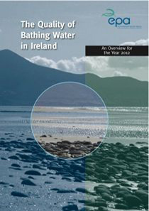 The Quality of Bathing Water in Ireland 2012 cover