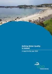Bathing Water Quality in Ireland 2020 cover