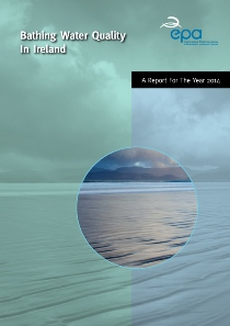 The Quality of Bathing Water in Ireland 2014 cover