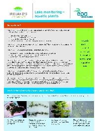 Lake monitoring aquatic plants - Fact Sheet