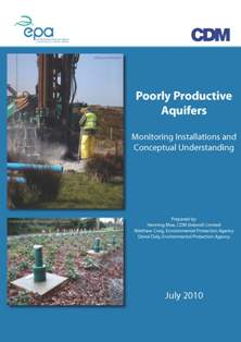 Cover thumbnail for publicaiton Poorly Productive Aquifers - Monitoring Installations and Conceptual Understanding
