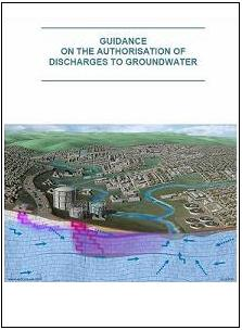 Thumbnail cover to publication Guidance on the Authorisation of Discharges to Groundwater
