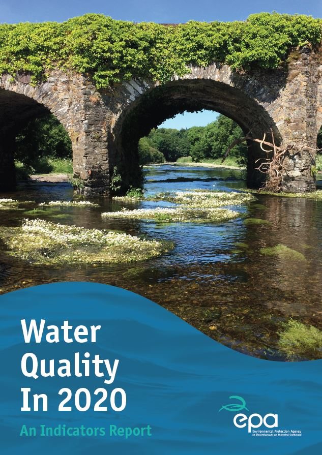 Cover image for Water Quality 2020 report