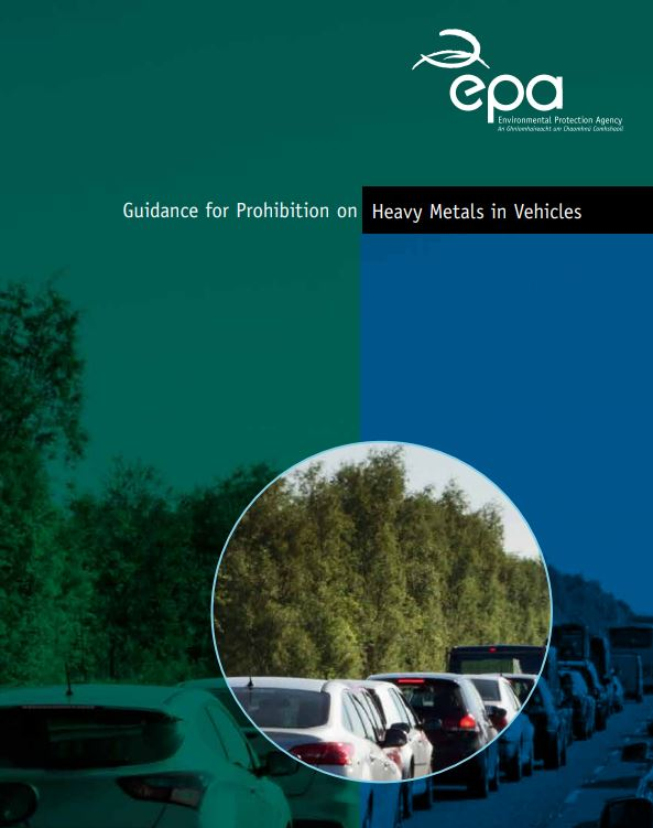 Guidance for Prohibition on Heavy Metals in Vehicles cover