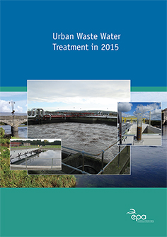 Urban Waste Water Treatment in 2015 cover