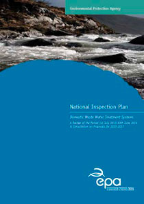 National Inspection Plan - Domestic Waste Water Treatment Systems cover