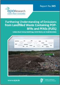 Research 345: Furthering Understanding of Emissions from Landfilled Waste Containing POPBFRs and PFASs (FUEL) cover