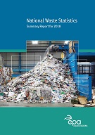 Report cover with waste shredder