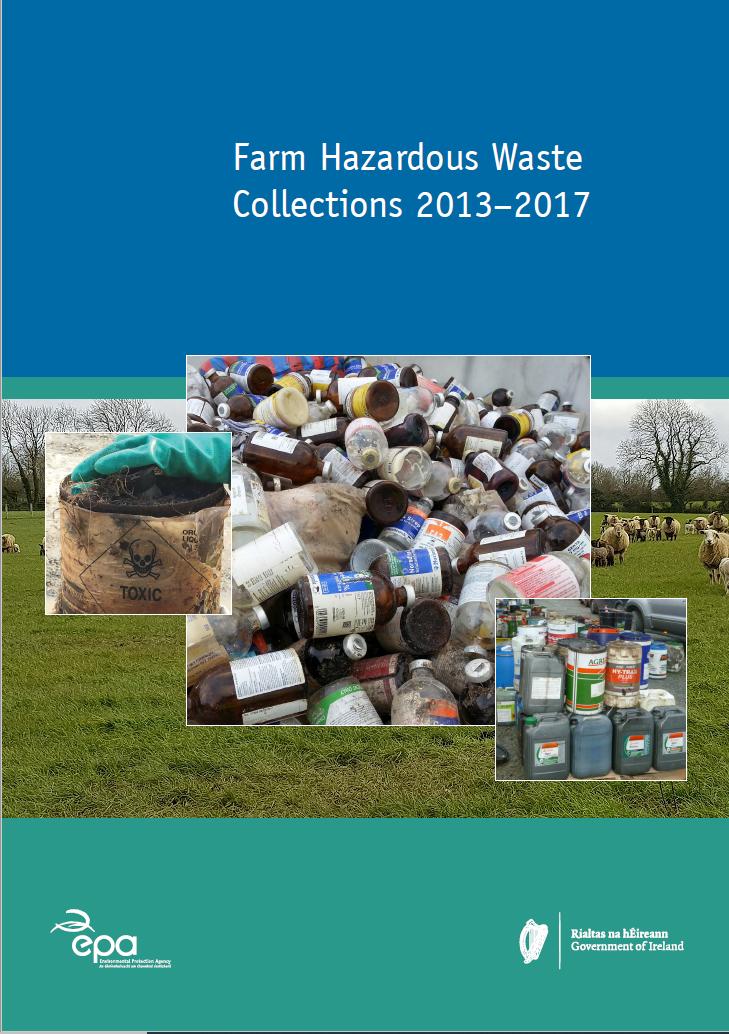 Farm Hazardous Waste Collections 2013 to 2017
