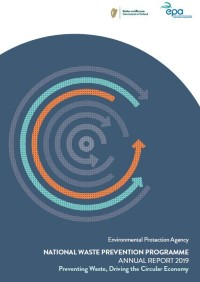 Report Cover with circle design