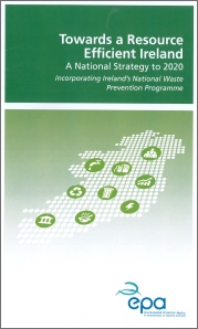 Report cover with map of Ireland