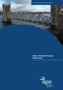 Report cover with water tower