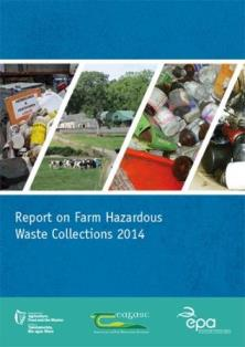 Report cover with pictures of different farm waste