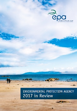 Report cover with beach scenery