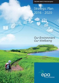 report cover with person walking on rural path