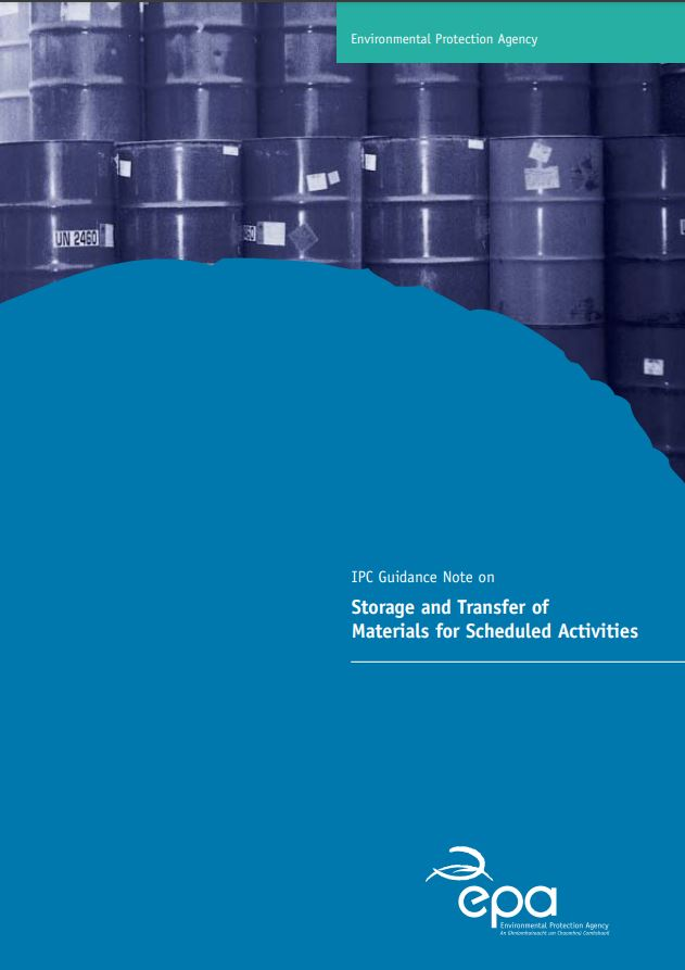 Thumbnail IPC Guidance Note on Storage of Materials for Scheduled Activities