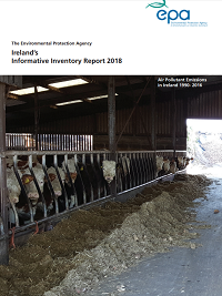 report cover with cattle stall