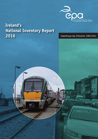 Report cover with Train