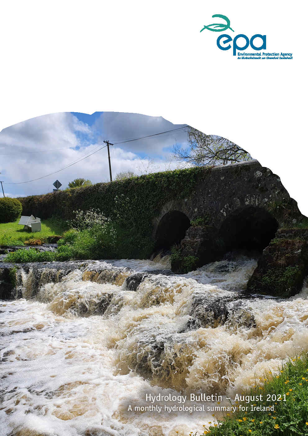 Hydrology Bulletin Cover August 2021