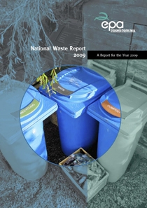 report cover with bins in the insert